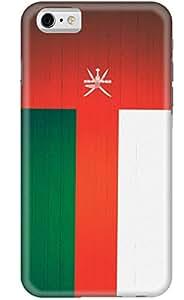 Stylizedd Apple iPhone 6 Premium Slim Snap case cover Matte Finish - Flag of Oman