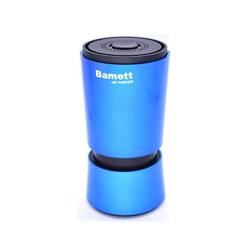 Bamett Car Air Purifier, Anion Air Purifier Car Purifier Oxygen Bar for Car, Air Cleaner, Remove Smoke, Bacteria, Dust, Formaldehyd (Blue)