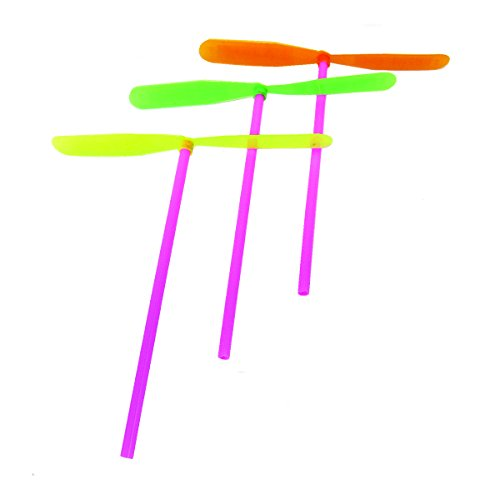Fettipop Plastic Dragonfly Assortement Yellow