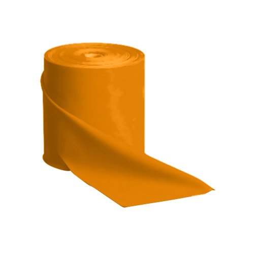 SPRI Flat Band Bulk Roll 150-Feet (Orange, Medium)