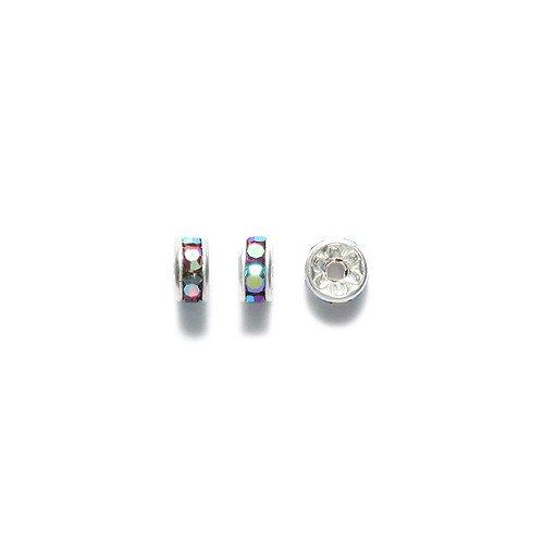 preciosa-rhinestone-rondelle-beads-5mm-siam-aurora-borealis-48-piece