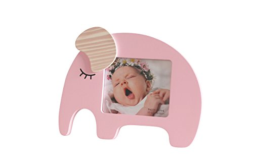 Newborn Baby Girl Desktop Picture Frame Pink -
