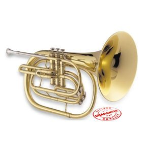 Jupiter 550 Bb Marching French Horn (550L Lacquer)