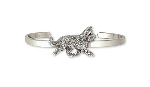 - Briard Jewelry Sterling Silver Briard Bracelet Handmade Dog Jewelry BRD2-CB