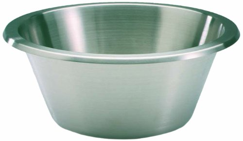 Matfer Bourgeat 702640 Flat Bottom Mixing Bowl