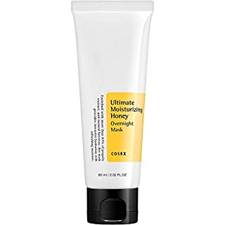 COSRX Ultimate Moisturizing Honey Overnight Mask, 60ml / 2.02 fl.oz | Propolis Extract 87% | Korean Skin Care, Cruelty Free, Paraben Free