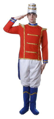 Dress Up America Adult Toy Soldier, Multi-Colored, (Adult Toy Soldier)