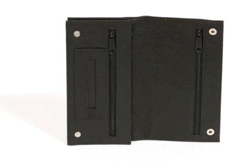 Borsa del tabacco Portasigarette portatabacco LEAS, Vera Pelle, nero - LEAS Special Edition