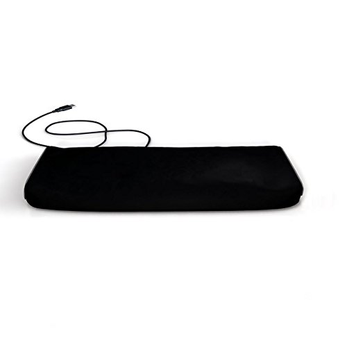 Interpro Dust Cover for Computer Keyboard - Size: 1.5(H) x 19(W) x 7(D).