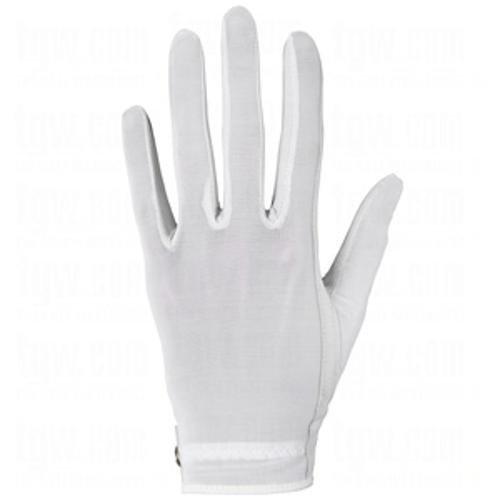 (Lady Classic Solar Full Finger Golf Glove White Large LH )