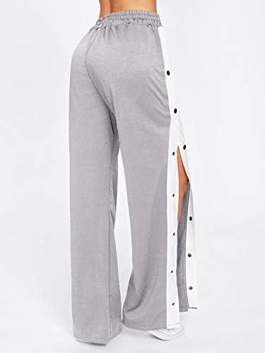 Mujer Rayas Pantalones de Chándal con Bolsillo Pantalones de ...