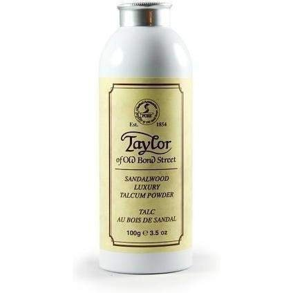 Taylor of Old Bond Street Sandalwood Talcum Powder, 3.5 Ounce by Taylor of Old Bond Street