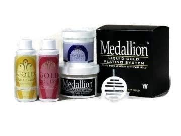 Liquid Gold Plating System, Medallion Gold Plating Immersion System by Medallion Industries