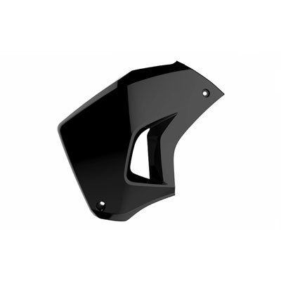 Polisport Radiator Scoops Left Side Black for Kawasaki KLR650 2008-2018