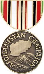 Afghanistan Campaign Medal Lapel or Hat Pin