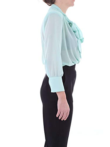 Azul Elisabetta Algodon Camisa Claro Franchi Cb04091e2033 Mujer qnx41BTZ