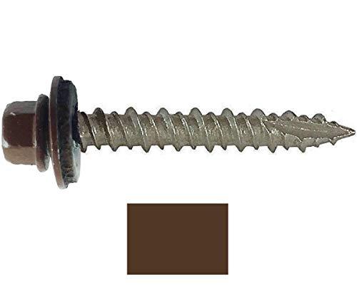 - Metal ROOFING SCREWS: (250) Screws x 1