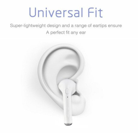 Wireless Earbuds, Bluetooth Headphones Mini Size, In-Ear Wireless Stereo Headphones with Mic and Charging Station, Noise Canceling Bluetooth Earbuds for iPhone IOS Android Smart Phones by Boveln (Image #4)