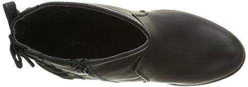 Angkorly - damen Schuhe Stiefeletten - Low boots - Spitze Blockabsatz high heel 8 CM - Schwarz