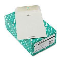 - Clasp Envelope, 6 1/2 x 9 1/2, 28lb, Executive Gray, 100/Box