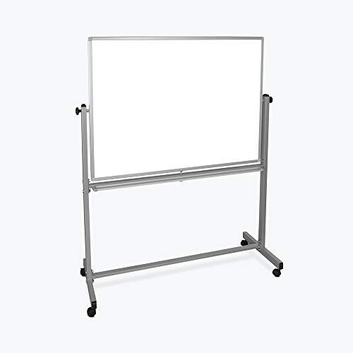 Mobile Magnetic Whiteboard 48