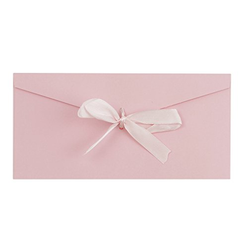 - 10 Pack Ribbon Buckle Envelopes Kit 8.7