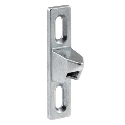 Prime-Line Products 14504 Sliding Door Keeper, 1/2-Inch, Chrome Plated Diecast ()