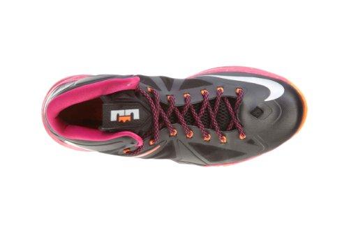 Lebron X (floridian Away) Zwart / Kers-levendig Oranje