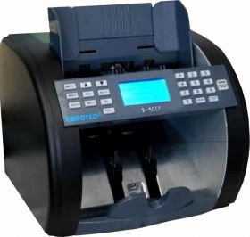 Amrotec D-90 Money Counting Machine - Bill Money Counter Worldwide Currency Cash Counting Machine, Cash Counter and Bill Detector- high speed bill counters