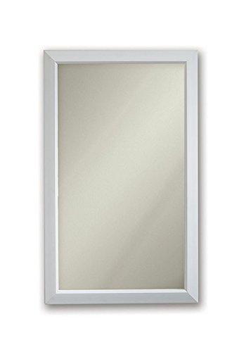 Jensen 625N244WHCX Gloss White Frame Medicine Cabinet, 15.75