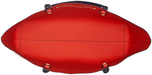 Tommy Hilfiger - Love Reversible Tote Heart, Bolsos totes Mujer, Rot (Heart Print), 13x31x46 cm (W x H D)