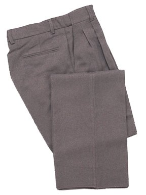 Adams USA Smitty Expanded Waist Pleated Baseball Umpire Base Pants (Heather Gray, 34-Inch)