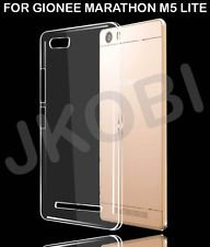 online store 88a80 835f2 colour blind Silicone Back Cover for Gionee M5 Lite (Transparent)