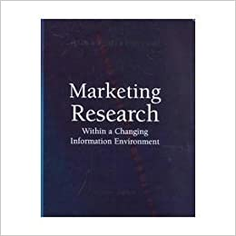 Marketing research : within a changing information environment