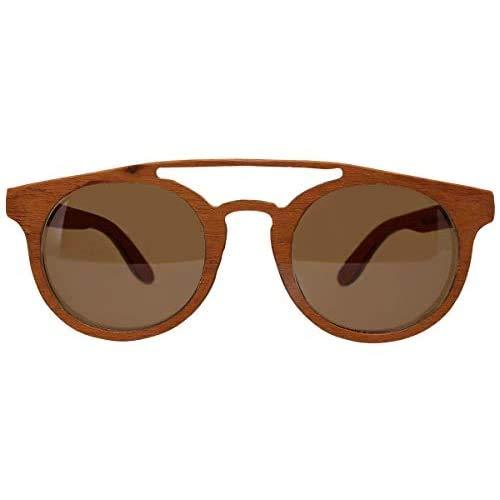Óculos de sol de madeira Leaf Eco Eleanor Muiracatiara
