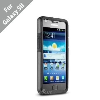 Acase(TM) Samsung Galaxy S2 S II (SGH-I777) Superleggera PRO Dual Layer Protection case for Samsung Galaxy S2 S II (SGH-I777) **ONLY FOR Canadian, Int