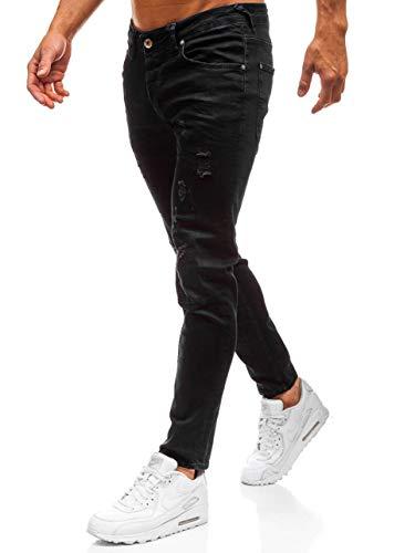 Diario Clubwear Fit Vaquero Negro Slim BOLF 8007 Pantalón Estilo Hombre 6F6 RIXx7I0qw