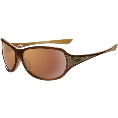 ab414847c65 Amazon.com  Oakley Belong Women s Limited Editions Fashion Sunglasses w   Free B F Heart Sticker - Caramel VR28 Gold Iridium   One Size Fits All   Automotive