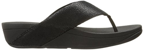 Women's Black Fitflop Thong Swoop Flop Flip Toe 6drdxY
