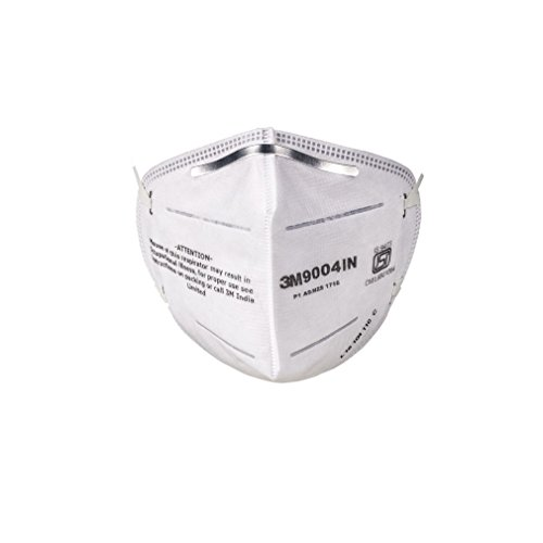 3M 9004 IN Particulate Respirator, White, Pack of 10 Price & Reviews