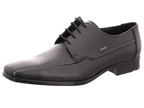 Lloyd Vares - Zapatos de cordones de Piel para hombre Negro - negro