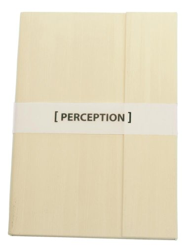 Grandluxe Ivory Perception Magnetic Flap Ruled Notebook, Medium, 4.1 x 5.8 (Magnetic Flap Journal)