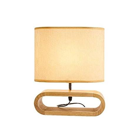 Lámpara de mesilla, lámpara de mesa, luz de noche para ...