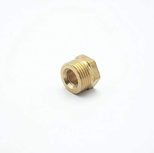 "Brass Reducing Hex Bush 3//4/""1//2/""1/""Male to Female BSP Coupler Connector Fitting"