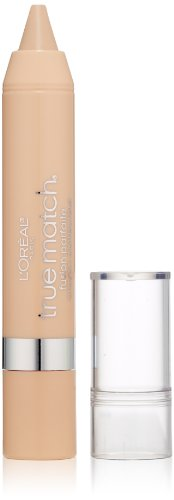 L'Oréal Paris True Match Super Blendable Crayon Concealer, Fair/Light Neutral, 0.1 oz.