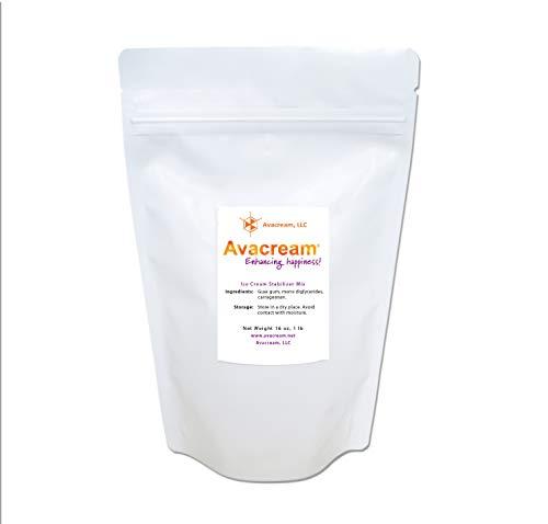 Avacream Ice Cream Stabilizer Mix - 16 oz