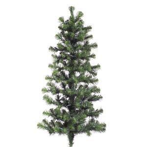 Vickerman Douglas Fir Wall Tree-Unlit, 24-Inch, Green