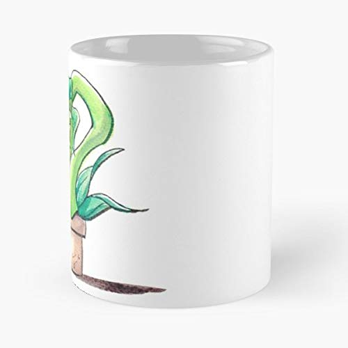 Audrey Ii Halloween Little Shop Of Horrors Plant - 11 Oz Coffee Mugs Unique Ceramic Novelty Cup, The Best Gift For Halloween. ()