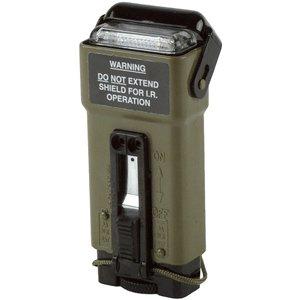 ACR Electronics ACR MS-2000(M) Military Distress Marker w/Blue Light Strobe, IR Filters, Locking Pin, Insert & Lanyard UK Version - Raised Lens Indicator Light