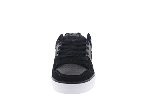 DC Shoes Pure Se M, Zapatillas de Skateboarding para Hombre Noir (Black/Dk Grey)